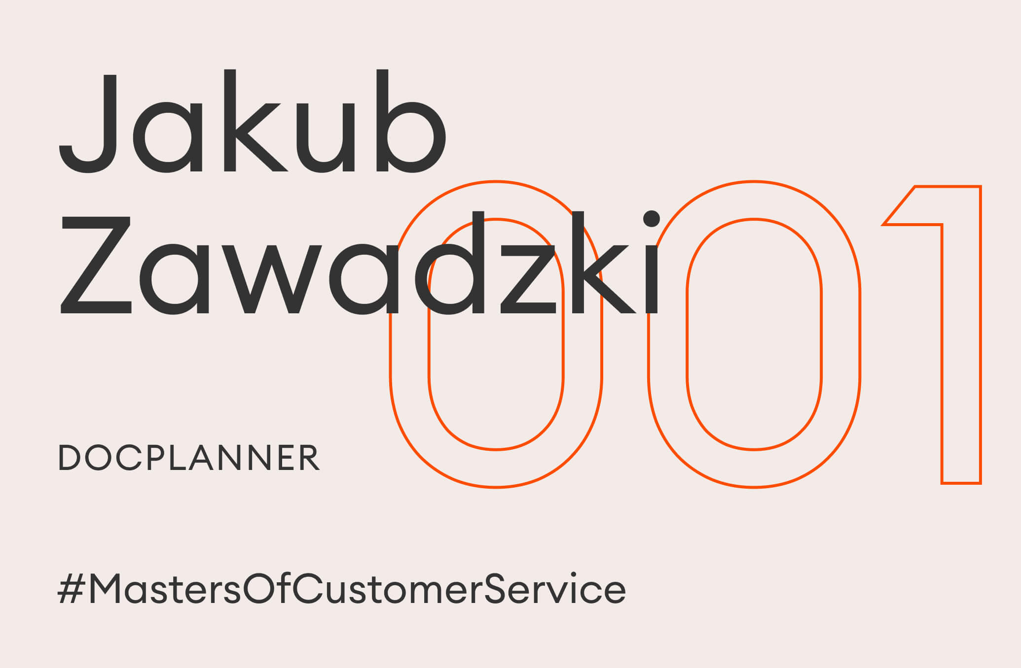 jakub zawadzki master of customer service