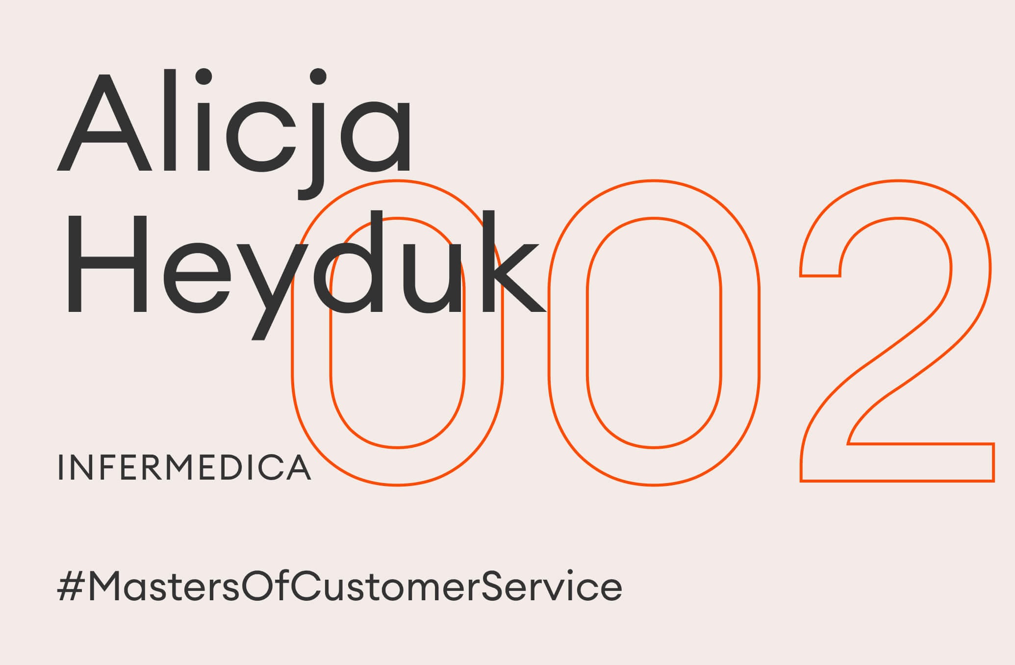 alicja heyduk master of customer service
